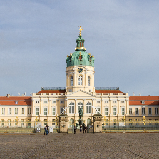 Berliner Geschichte und Baukunst erleben: Schloss-Charlottenburg