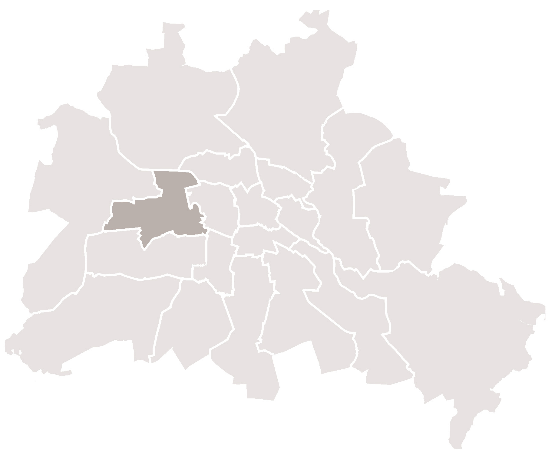 Karte Berlin Charlottenburg