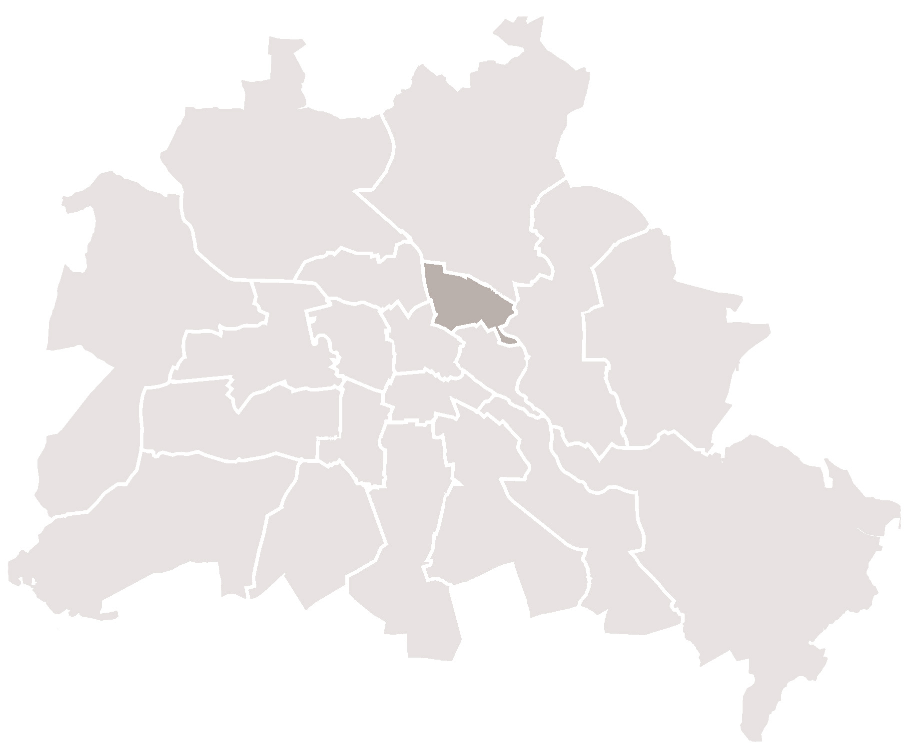 Unterkunft Nr 1490 Lage In Berlin Aufberlin Karte In Berlin