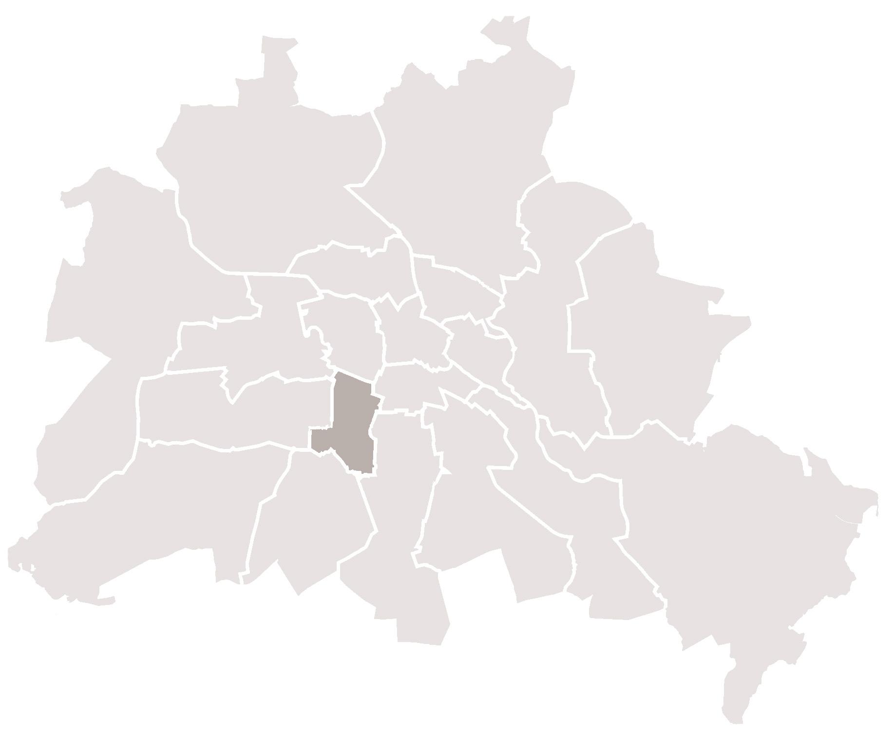 Berlin Schöneberg Karte