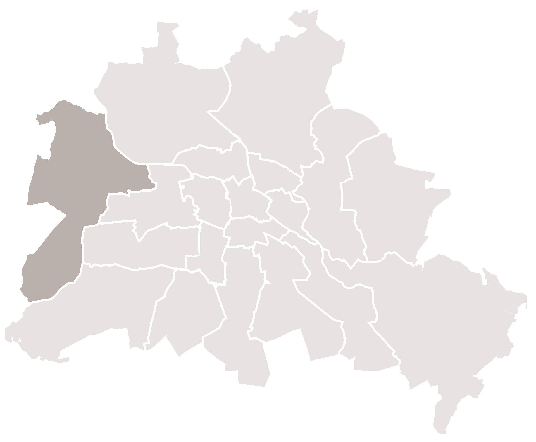Berlin Spandau Karte