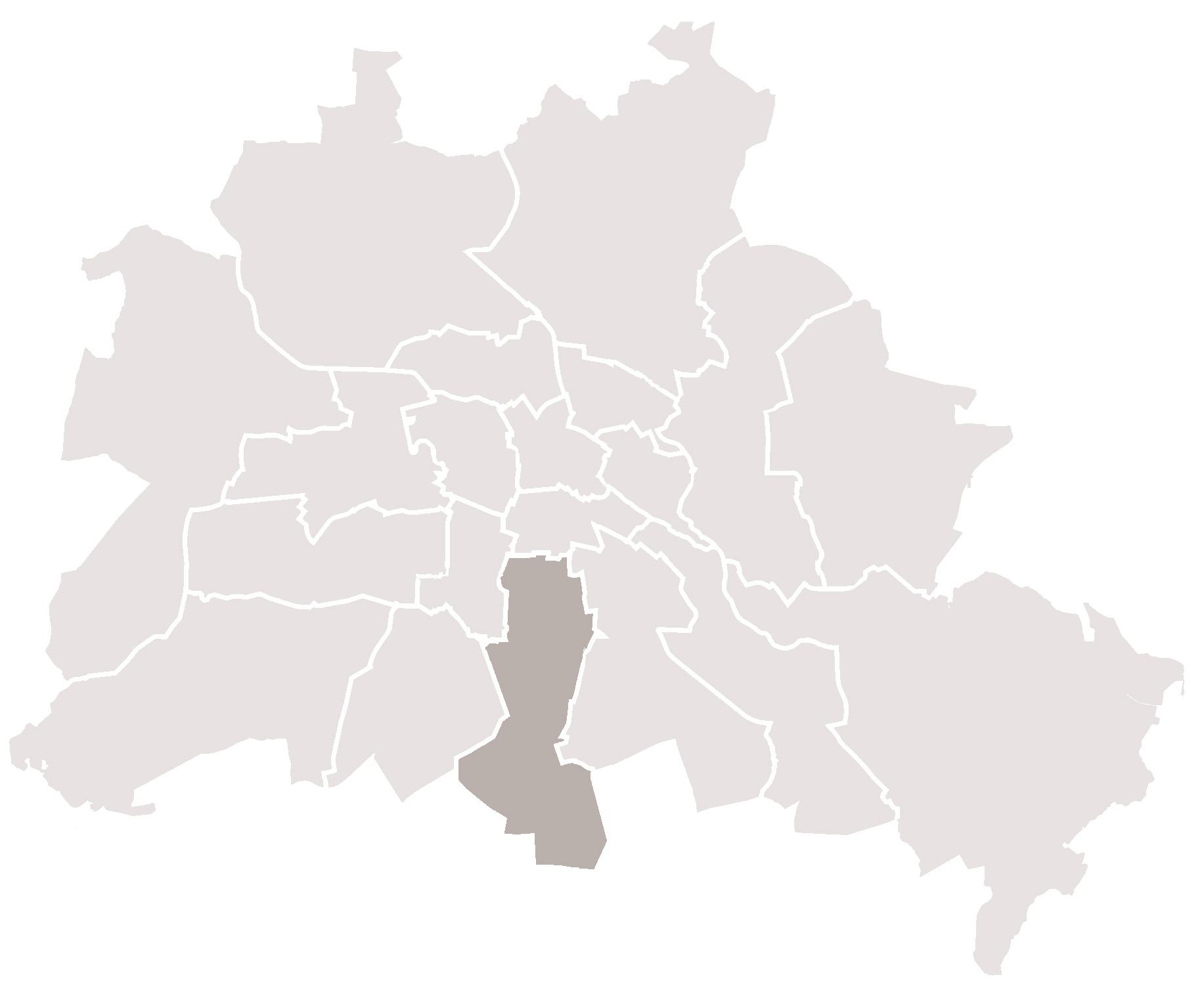 Berlin Tempelhof Karte