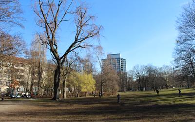 Wohnen auf Zeit Berlin-Wilmersdorf Park