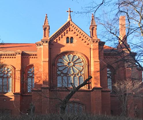 Möblierte Wohnung Berlin Prenzlauer Berg Kirche