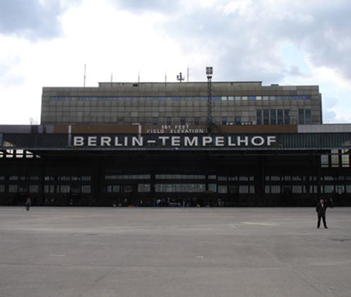 Wohnen auf Zeit Berlin-Tempelhof Flughafengebäude