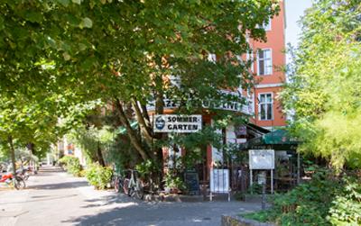 möblierte Wohnung Berlin-Kreuzberg Café