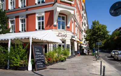 möblierte Wohnung Berlin-Kreuzberg Restaurant