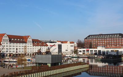Wohnen auf Zeit Berlin-Tempelhof Hafen